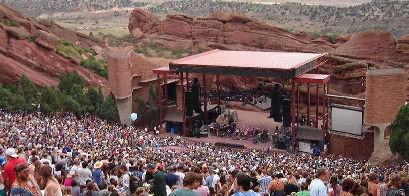 Red Rocks Concert Party Bus Rental